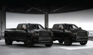 2020 Ram 2500 and 3500 Heavy Duty Black Limited Black Edition